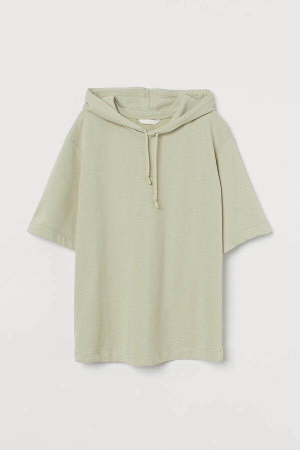 Thumbnail for your product : H&M MAMA Short-sleeved Hoodie - Green