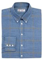 Turnbull & Asser Windowpane Classic Fit Dress Shirt - 100% Exclusive