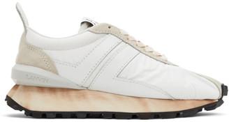 Lanvin White Bumpr Sneakers