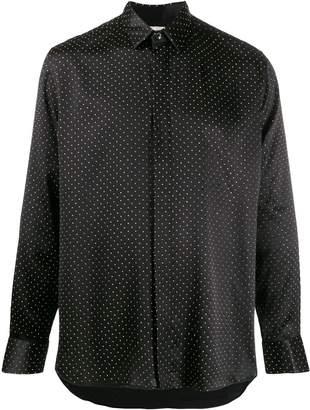 Saint Laurent micro-studded buttoned shirt