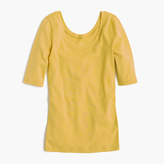 J.Crew Perfect-fit scoopneck T-shirt