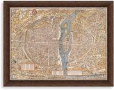 Bed Bath & Beyond Map of Paris Framed Art