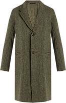 Lemaire Deconstructed wool coat