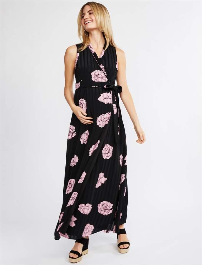 d4b0715c30 Jessica Simpson Floral Print Maxi Dress - ShopStyle