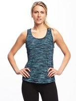 Old Navy Fitted Go-Dry Crossback Keyhole Tank for Women
