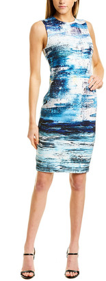 Yigal Azrouel Scuba Sheath Dress