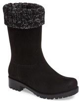 dav Women's Shelby Knit Cuff Waterproof Boot
