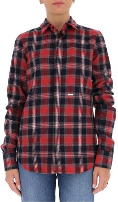 DSQUARED2 Tartan Checked Shirt