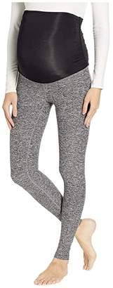 Beyond Yoga Spacedye Fold Down Maternity Midi Leggings
