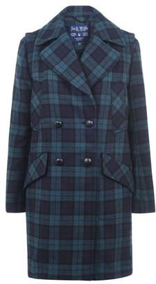 Jack Wills Merrow Blackwatch Wool Jacket