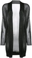 Barbara Bui shawl lapel sheer cardigan - women - Viscose - XS