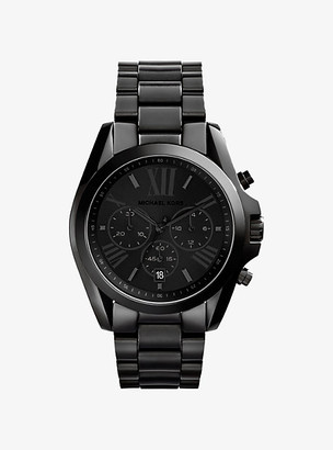 Michael Kors Oversized Bradshaw Black-Tone Watch