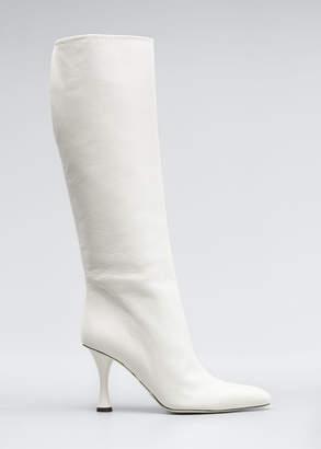 Proenza Schouler Vase Leather Knee Boots