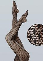 Diamond Shimmer Net Tights Panty Hose