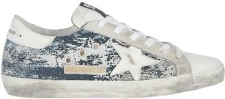Golden Goose Superstar Low-Top Jacquard Sneakers