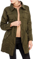 Steve Madden Cotton Military Jacket