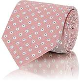 Isaia Men's Dot-Pattern Silk Necktie