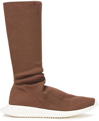 Rick Owens Stretch-knit Boots