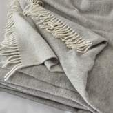 The White Company Luxury Wool-Cashmere Throw