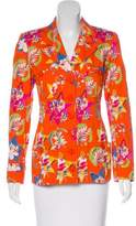 Ungaro Printed Button-Up Jacket