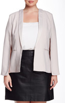 BB Dakota Sprill Shawl Collar Jacket (Plus Size)