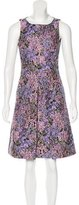 Michael Kors Floral A-Line Dress
