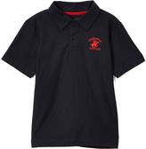 Beverly Hills Polo Club Midnight & Red Jersey Polo - Toddler & Boys