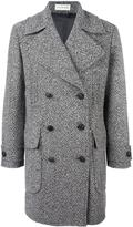 Faith Connexion tweed caban coat - men - Cotton/Polyester/Viscose/Virgin Wool - XXS