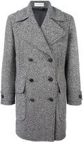Faith Connexion tweed caban coat