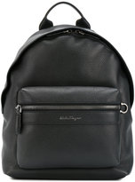 Salvatore Ferragamo leather backpack - men - Leather - One Size