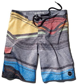Ezekiel Board Shorts Mirage Grey 31