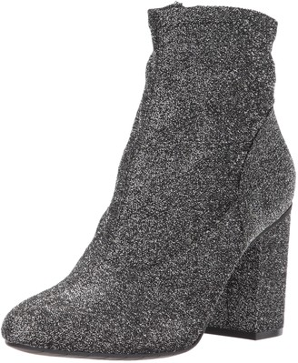 Kenneth Cole Reaction Women's Time for Fun Ankle Bootie with Sock Shaft High Heel Mt