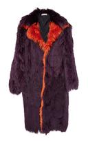 Marni Alpaca Fur Coat