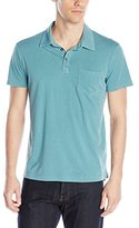 Splendid Mills Men's Pigment Basic Polo Shirt