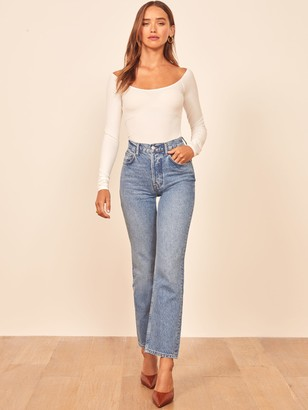 Reformation Cynthia High Relaxed Jean