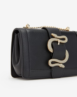 Express Snake Buckle Chain Strap Shoulder Bag