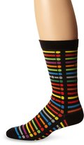Ozone Men's MTA Subway Stripes Sock