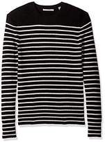 Vince Men's Bretton Stripe Cashmere Crew Sweater