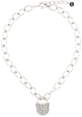 Karl Lagerfeld Paris Choupette lock necklace