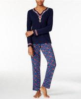Lucky Brand Slub Jersey Pajama Set