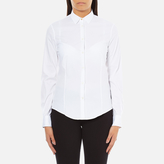 Paul Smith Women's White Classic Shirt With Spot Cuff White