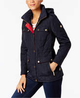MICHAEL Michael Kors Size Quilted Hooded Jacket