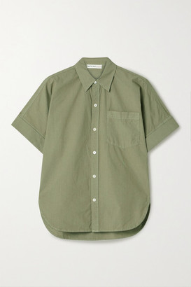 Alex Mill Charlie Cotton-poplin Shirt - Army green