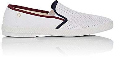 Rivieras Shoes Men's Tour Du Monde Slip-On Loafers - White