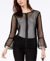 Alfani Sheer Mesh Jacket, Created For Macy's