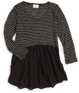 Hip Girl's Stripe Drop Waist Tunic