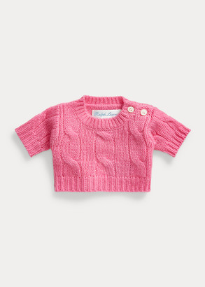 Ralph Lauren Small Cashmere-Sweater Bear