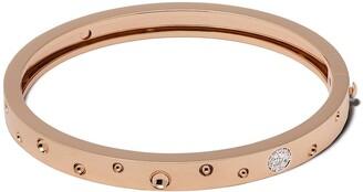 Roberto Coin 18kt rose gold Pois Moi Luna diamond bangle