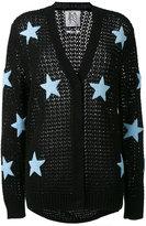 Zoe Karssen stars pattern cardigan - women - Cotton - L