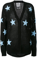 Zoe Karssen stars pattern cardigan - women - Cotton - XS